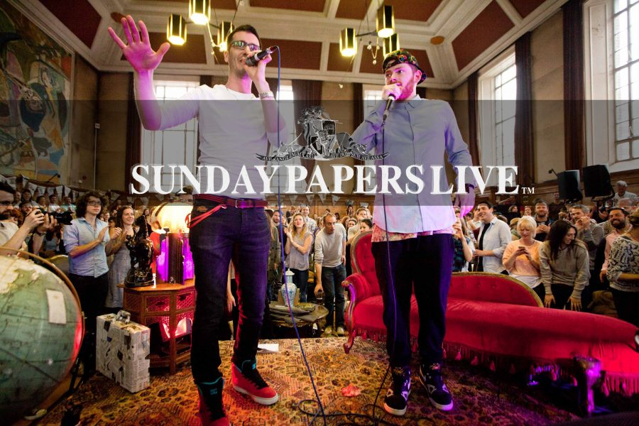 The Sunday Papers Live- Cambridge Science Festival Edition