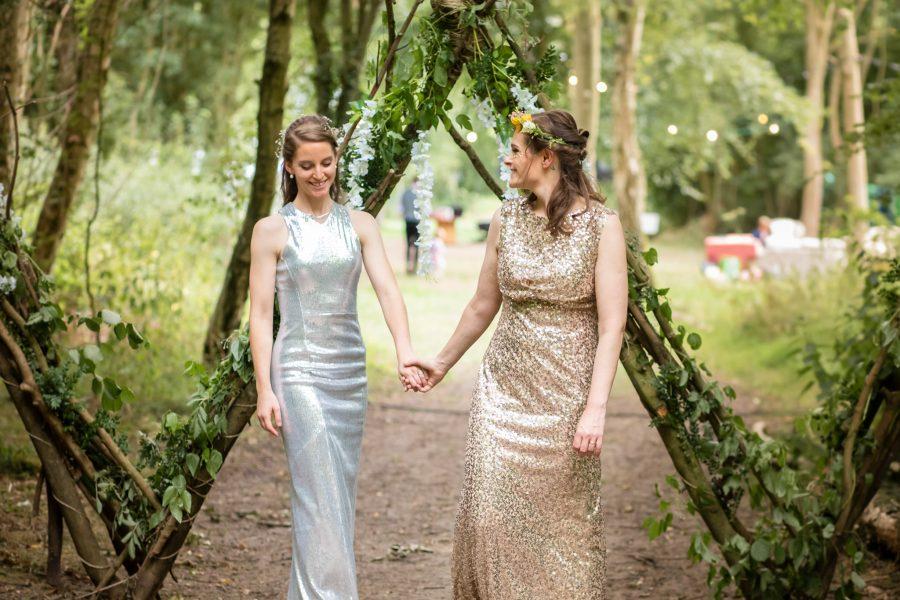 A Wild Wood Wedding